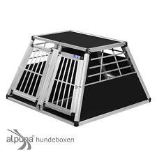 N56 Hundetransportbox Doppelbox Aluminium Transportbox Hundebox Hunde Alubox