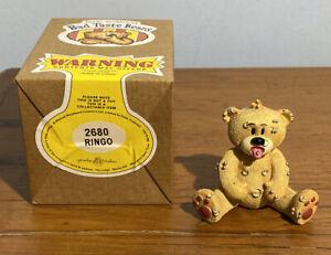 Bad Taste Bears Ringo Yellow Label Box