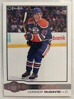 2015-16 Connor Mcdavid Upper Deck O-Pee-Chee Glossy Rookies #R-1 Edmonton Oilers