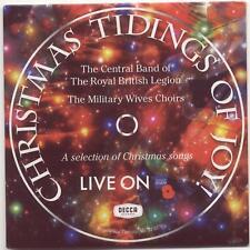 CHRISTMAS TIDINGS OF JOY: BRITISH LEGION BAND / MILITARY WIVES CHOIRS – PROMO CD