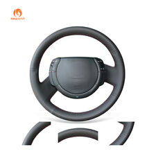 Black Durable PU Leather Steering Wheel Cover for Citroen Triumph C4 2005-2010