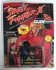 GI Joe Street Fighter II Ken Masters Shotokan Karate Fighter Action Figure