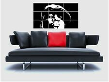 "NOTORIOUS B.I.G. BORDERLESS MOSAIC TILE WALL POSTER 35""x25"" BIGGIE SMALLS RAPPER"