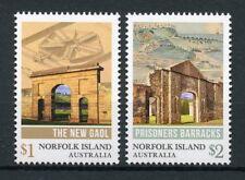 Norfolk Island Australia 2017 MNH Convict Herigate 2v Set Architecture Stamps