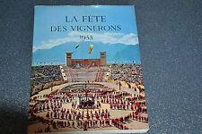 LA FETE DES VIGNERONS VEVEY 1955 (A8)