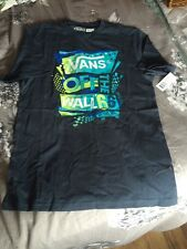 Boys Vans Cotton T shirt size L new with tags