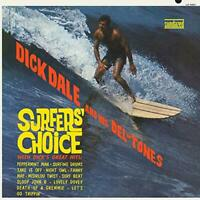 SURFERS CHOICE (GOLD VINYL) - DICK DALE AND HIS DEL-TONES