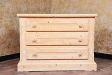 Voglauer Anno 1900 Natural Cottage Drawers Dresser Chest Farmhouse Wardrobe