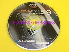 AUDI NAVIGATION DIGITAL DVD MAP CD GPS NAV DISC CD 9 SOUTH EAST #ZBW D02 DCA 09.