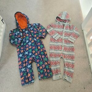 boys m&s all in one snow suit 18-24 months VGC