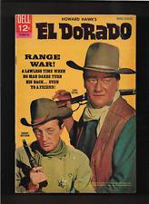 "1967 JOHN WAYNE "" EL DORADO  "" DELL COMIC BOOK HIGHER GRADE ORIGINAL & COMPLETE"