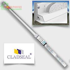 Cladseal Sealing Kit For PVC Bathroom cladding Sealing Around Bath & Shower Tray