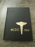 VINTAGE UNIVERSITY of MISSISSIPPI MEDICAL SCHOOL MEDIC 1969 YEARBOOK OLE MISS