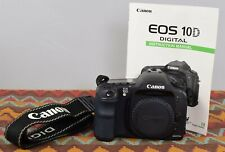 Canon EOS 10D 6.3MP Digital SLR Camera - Black (Body Only)