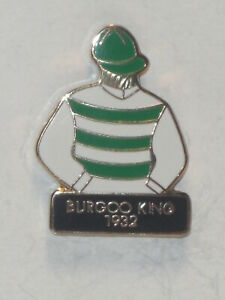 1932 - BURGOO KING - Kentucky Derby Jockey Silks Pin