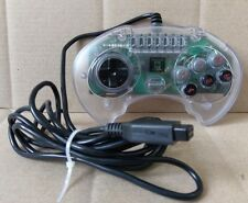 Sega Genesis High Frequency Turbo 6-Button Transparent Clear Game Controller