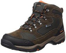 Hi-tec Storm WP hombre Dri-tec cordones Marrón botas impermeables senderismo 43