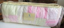 "Pottery Barn Kids ""Heather"" Crib Bumper One Size. New"