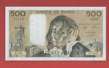 500 Francs pascal du 1-2-1990 Alphabet R.312  Billet N° 779147410
