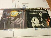 Lot of 2 Frank Marino & MAHOGANY RUSH IV  LP Vinyl Record 1976 1980