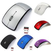 Optische 2.4G faltbare drahtlose Maus schnurlose Mäuse USB Folding Mouse  ST MW