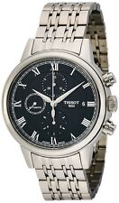 Tissot T0854271105300 Carson Chronograph Automatic Men's Black Watch New in Box