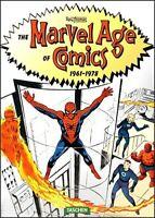 ROY THOMAS MARVEL AGE OF COMICS Book 1961-1978 Hardcover Spider-Man Hulk X-men