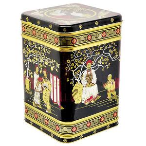 Teedose - Tee Dose aus Metall - Vorratsdose - Japan - für ca. 2 Kg Tee