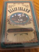 Ellis Island Front Door To Freedom New York City Deck Playing Cards  NIP