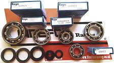 Aprilia RS125 RS 125 Full / Complete Koyo Bearing & Seal Kit Rotax 122 & 123