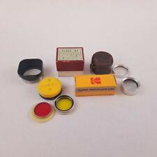 Vintage Kodak Verichrome Pan Film Series 5 Filters Samigon Close-up Lens Bundle