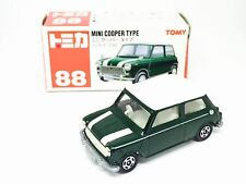 TOMY TOMICA NO 88 MINI COOPER TYPE CAR CLASSIC GREEN 1/50 DIECAST