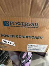 Powervar 66008-64R Power Conditioner Pw10125, Abcg065-11