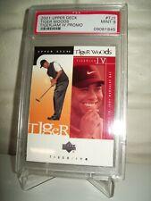 2001 Upper Deck Tiger Woods Tiger Jam IV Promo #TJ1 PSA 9
