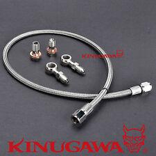Kinugawa Turbo Oil Feed Line Nissan S14 SR20DET w/ Factory T25 Turbo 1.5mm Hole