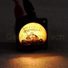 Generic New One VU Panel Meter 0dB=1.288V 35x35mm Incandescent Lamp Classical