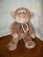 """Gund Stringer Monkey Plush 2616 Brown 13"""" With Gund 100 Years Tag"""