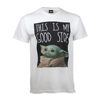 Star Wars The Mandalorian Good Side T Shirt Official The Child Baby Yoda NEW