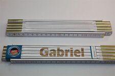 Zollstock mit Namen     GABRIEL   Lasergravur 2 Meter Handwerkerqualität