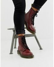 Dr. Martens Women's Red 1460 8 Eye Leather Boots Size 10 US 8 UK