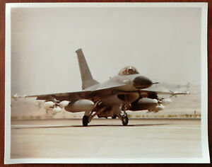 General Dynamics F-16 Fighting Falcon Fighter Aircraft Photograph c. 1970's