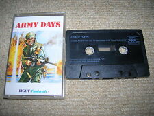 ARMY DAYS - Rare Commodore 64 / 128 Game !!!