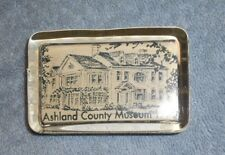 Paper Weight - Ashland County Museum - 1980