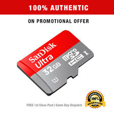 Authentic 32GB SanDisk Ultra Micro SD Scheda di memoria SDHC Adattatore 98MB/s Class 10