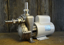 Frx 75sp Stainless Steel Ss 220v Ac Mp Centrifugal Pump With Fittings Nice
