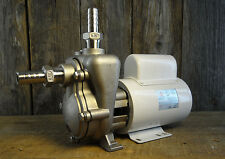 FRX-75SP Stainless Steel SS 220v AC - MP centrifugal pump with fittings. Nice