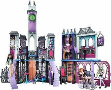 Monster High School Play Set Kids Fun Toy Vampire Mansion Château goth doll house