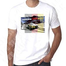 Moscow DTM Race Moscow Raceway Mens 100% Cotton White T-Shirt