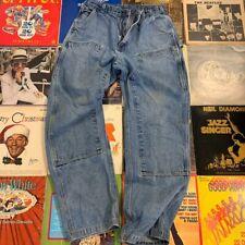 vintage carhartt double knee Work Jeans