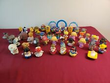Fisher Price Little People Lot 40+ Circus, Animals,  Figures, Disney Snow White
